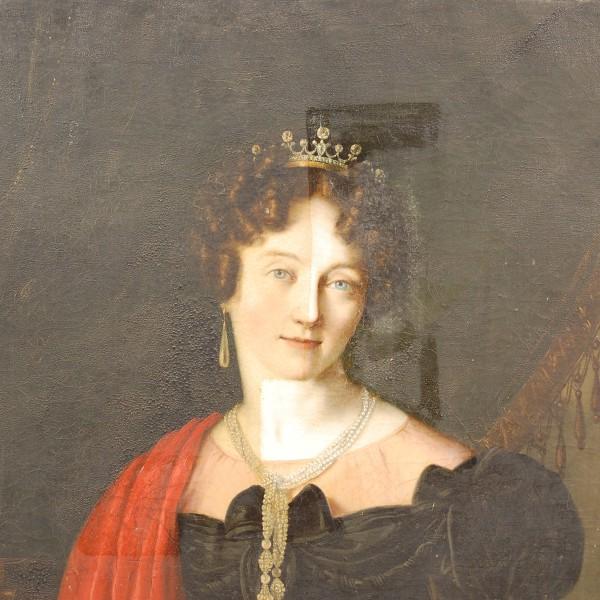 Ritratto della Marchesa Adriana Ferro Gabuccini Feretti Taaffe, sec XIX