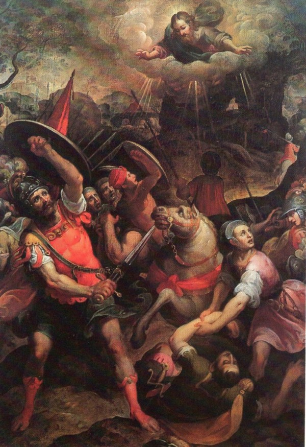 Pinacoteca civica di Fano, Conversione di San Paolo, autore Antonio Viviani, provenienza Chiesa di San Pietro in Valle