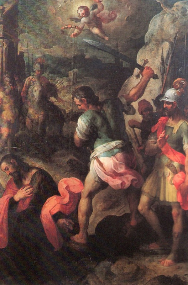 Pinacoteca Civica di Fano, Decollazione Di San Paolo, di Antonio Viviani, Provenienza Chiesa di San Pietro In Valle