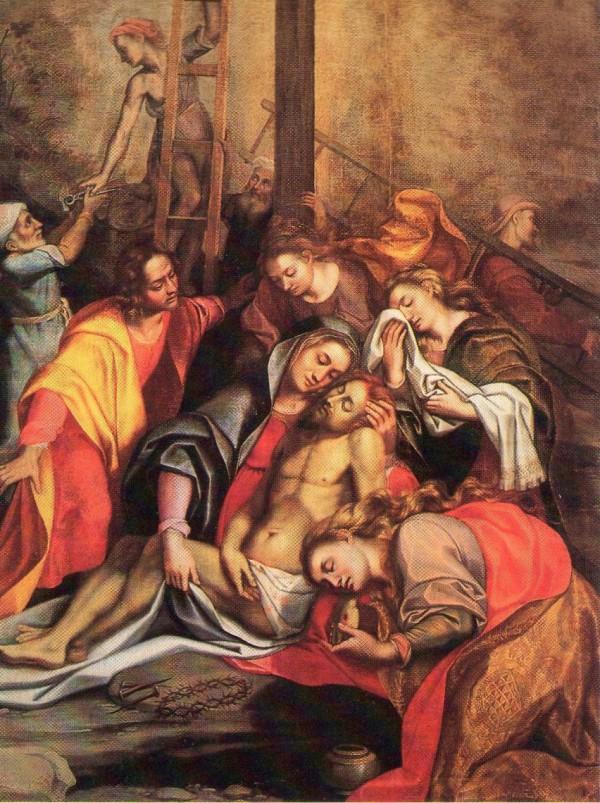 Pinacoteca Civica Di Fano, Deposizione di Cristo. Autore Alessandro Vitali, provenienza Chiesa di San Pietro in Valle