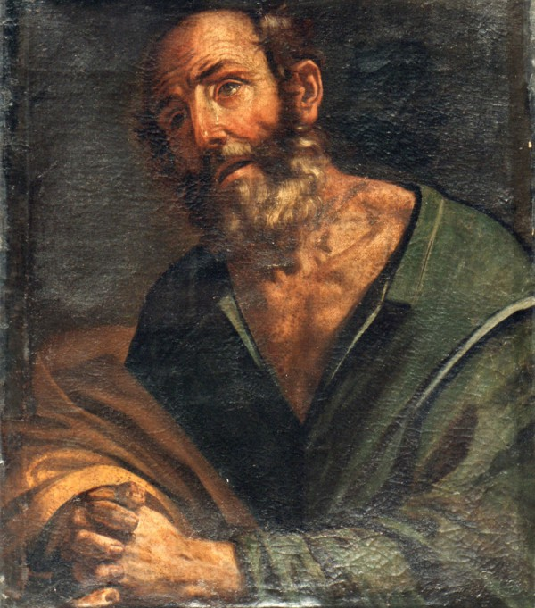 Giovan Francesco Guerrieri, San Pietro piangente, Fano Pinacoteca Civica